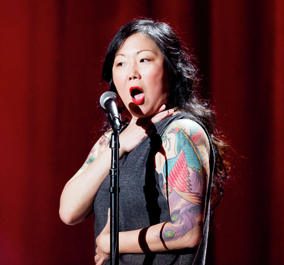 Margaret Cho live at the at the Gramercy Theater in New York City in MARGARET CHO: psyCHO. Copyright: Mindy Tucker/SHOWTIME. Photo ID: MARGARET CHO_psyCHO_3420988_UN_05 Photo: Mindy Tucker/SHOWTIME / Mindy Tucker/SHOWTIME / Justin Baker/SHOWTIME