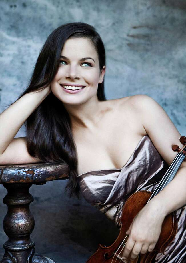 Violinist Bella Hristova, who has played in the Cactus Pear Music Festival many times, will be a guest artist for the Youth Orchestra of San Antonio Philharmonic's season opening concert. Photo: Courtesy Lisa Marie Mazzucco