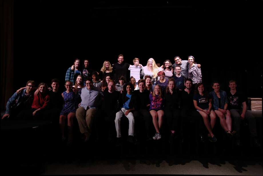 "Cambridge American Stage Tour, or CAST, was at Stratford High School in Stratford, Connecticut, on Thursday for a school performance of Shakespeare's ""Taming of the Shrew"" and to coach students in the art of acting and stagecraft. On Friday evening, Sept. 25, 2015, CAST will perform ""Shrew"" again in an outdoor production on the grounds of the American Shakespeare Festival Theatre beginning at 7:p.m. Photo: Tom Johnson / Cambridge America Stage Tour / Connecticut Post"