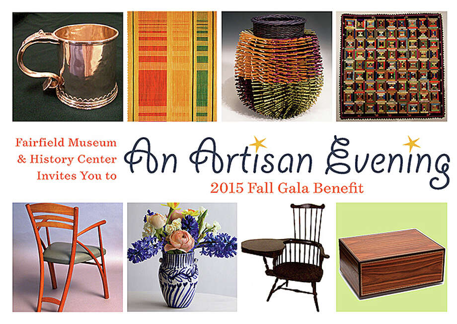 """An Artisan Evening"" is the theme of the Fairfield Museum and History Center's fall gala, planned Oct. 24 in conjunction with the opening of the museum's new exhibit, ""Handcrafted: Artisans Past & Present."" Photo: Contributed Photo / Fairfield Citizen"