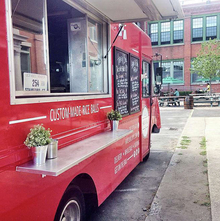 The Have A Ball NYC food truck, with a menu featuring Italian rice balls, is now based in Fairfield. Photo: Contributed Photos / Fairfield Citizen