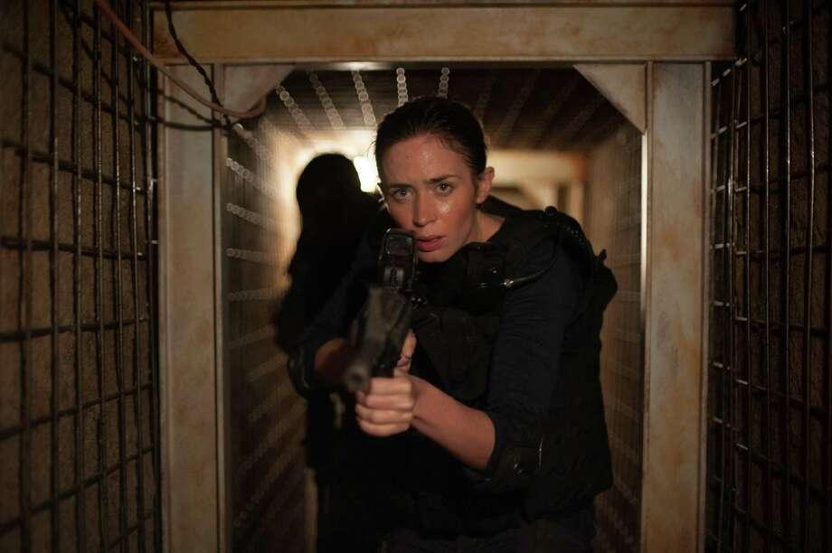 "Emily Blunt stars in ""Sicario."" Photo: Richard Foreman/Lionsgate, HO / Chicago Tribune"