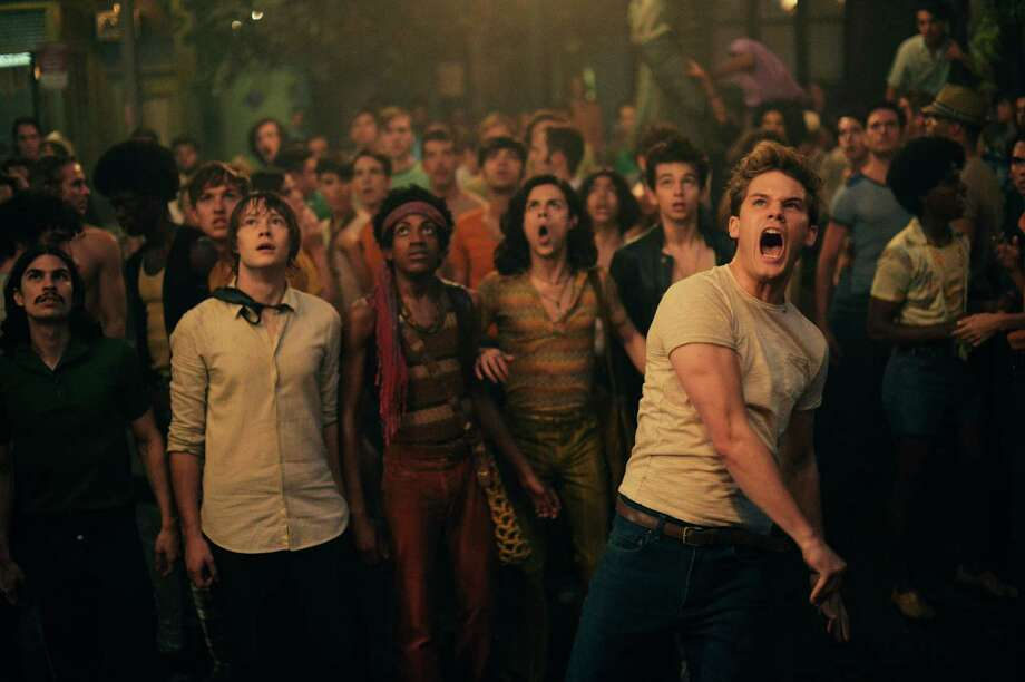 """Jeremy Irvine leads the cast in """"Stonewall."""" """" STONEWALL """"  Photo by Philippe Bosse Photo: Photo Philippe Bosse"""
