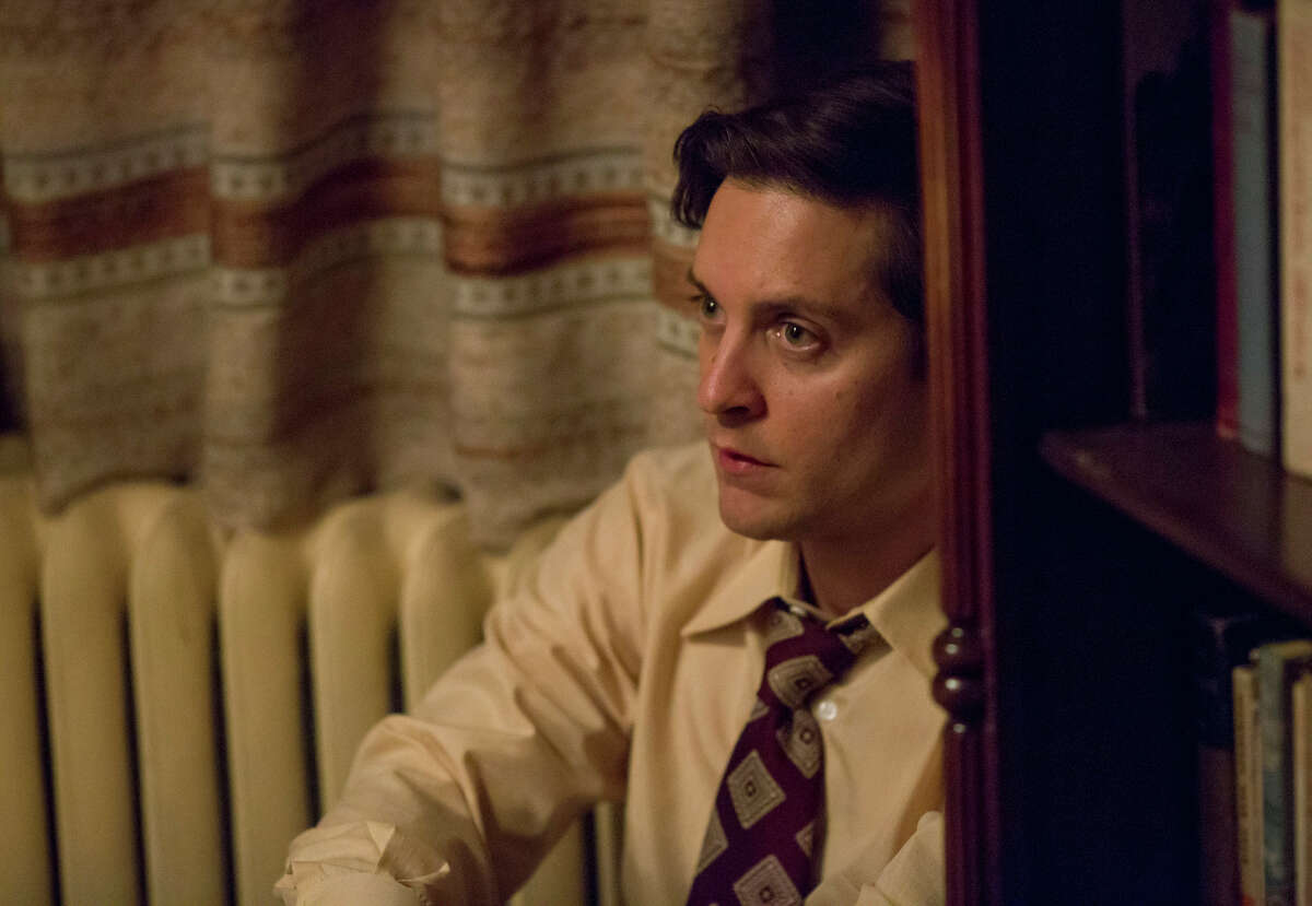 """Tobey Maguire stars as troubled chess champion Bobby Fischer in Edward Zwick's """"Pawn Sacrifice,"""" a PG-13 Bleecker Street release in theaters Friday, Sept. 18. Photo by Takashi Seida"""