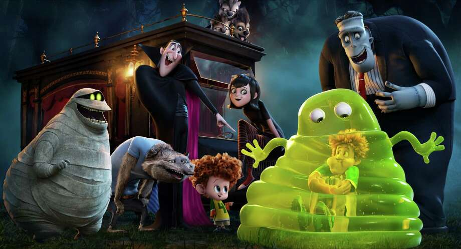 """This image released by Sony Pictures Animation shows a scene from in Columbia Pictures and Sony Pictures Animation's """"Hotel Transylvania 2."""" (Sony Pictures Animation via AP) Photo: Sony Pictures Animation, HONS / Associated Press / Sony Pictures Animation"""