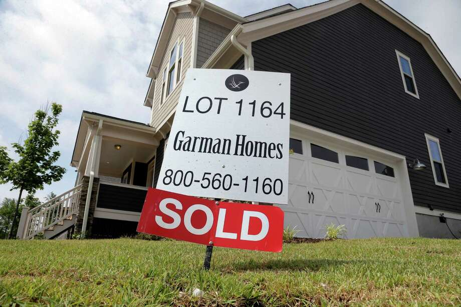 New-home sales surged 5.7 percent last month to a seasonally adjusted annual rate of 552,000 — the strongest pace since February 2008 — the Commerce Department said. Photo: Gerry Broome /Associated Press / AP