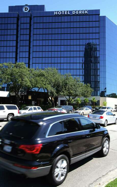 The annual state-of-the-market report to the Hotel & Lodging Association of Greater Houston was delivered Thusday at the Hotel Derek near the Galleria. Photo: Thomas B. Shea / © 2013 Thomas B. Shea
