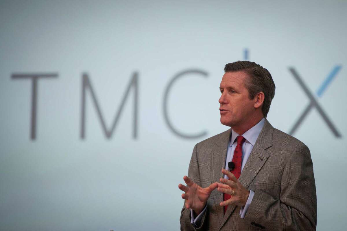 Texas Medical Center executive William McKeon, in an Oct. 9, 2014, file photo. ( Marie D. De Jesus / Houston Chronicle )