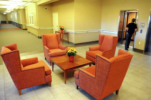 Second floor lobby on Thursday, Sept. 24, 2015, at the Livingston School Apartments in Albany, N.Y. (Cindy Schultz / Times Union) Photo: Cindy Schultz / 00033472A