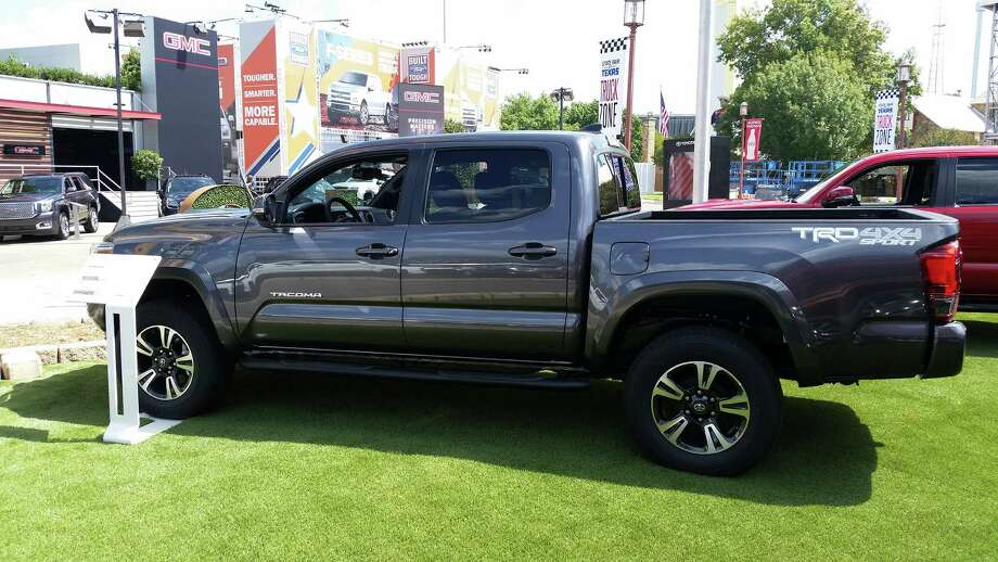 Toyota's Tacoma pickup, made in San Antonio and Tijuana, Mexico, posted a 17.1 percent sales increase for the month. Photo: Richard Webner /San Antonio Express-News / San Antonio Express-News