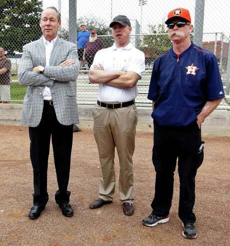 """Owner Jim Crane said the Astros' improvement has been nice but not getting into the playoffs """"would be a big disappointment."""" Photo: Karen Warren, Staff / © 2015 Houston Chronicle"""