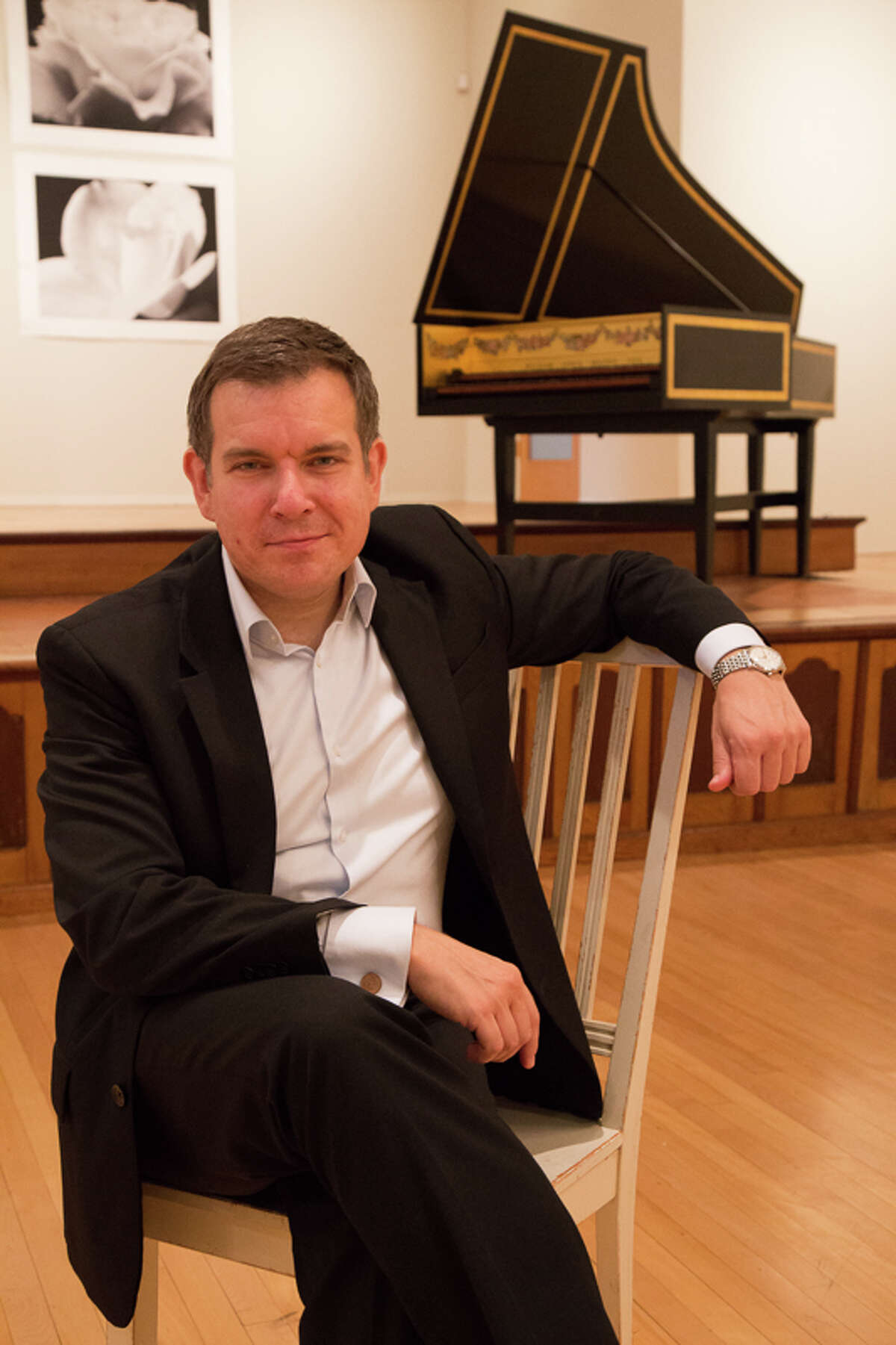 Paolo Bordignon will perform an all-Bach concert on the harpsichord at St. Paul's United Methodist Church on Tuesday, Sept. 29.