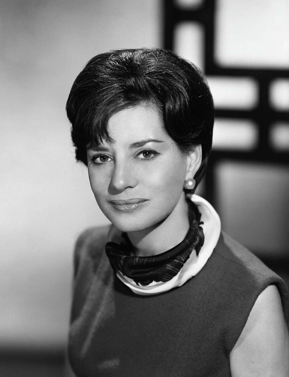 Newswoman Barbara Walters is 86 (this photo is from 1964).