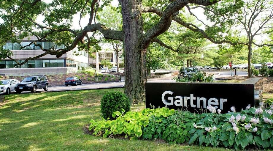 Gartner headquarters in Stamford, Conn. Photo: Lindsay Perry / Lindsay Perry / Stamford Advocate