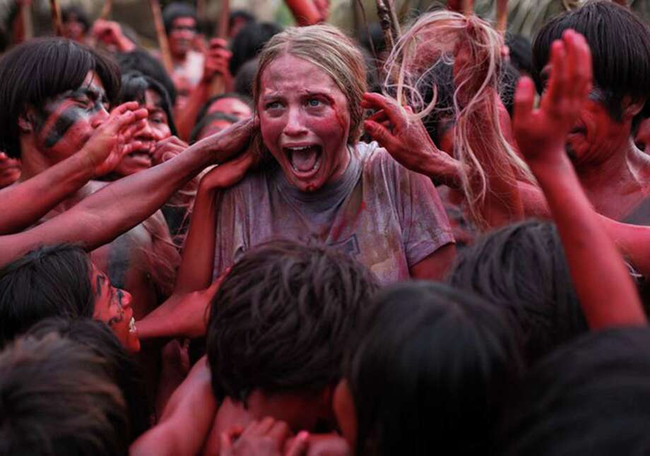 "Still of Ignacia Allamand in ""The Green Inferno."" (Blumhouse Productions) Photo: Handout, HO / MCT"