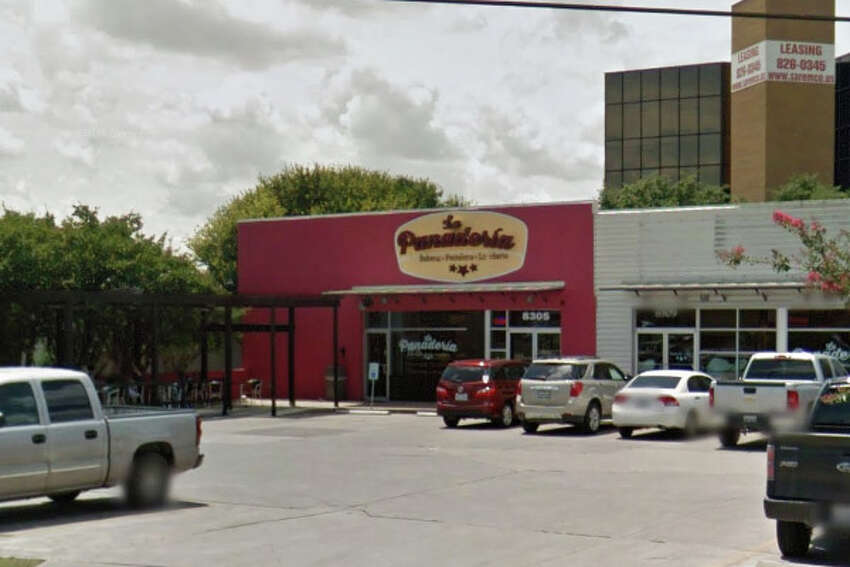 La Panaderia: 8305 Broadway, San Antonio, Texas 78209Date: 12/21/2016 Score: 68Highlights: Floor drains were overflowing onto kitchen floor, establishment did not have a current/valid permit, food not protected from cross contamination, employees' personal food items stored near food prep areas, employees seen touching ready-to-eat foods with bare hands.