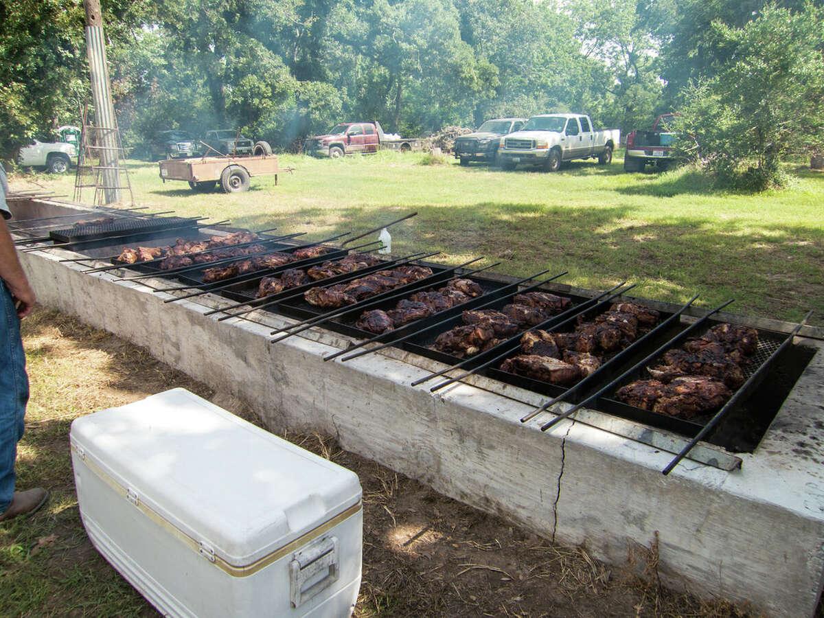 "Matt Garner popularized brick barbecue pits in his long-ago era as a Houston ""barbecue baron."""