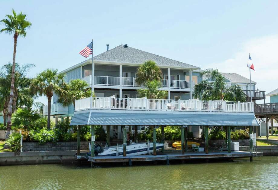 Waterfront properties are in demand all along the Gulf Coast, especially in the Galveston area.  - Photo courtesy of Sand 'N Sea Properties