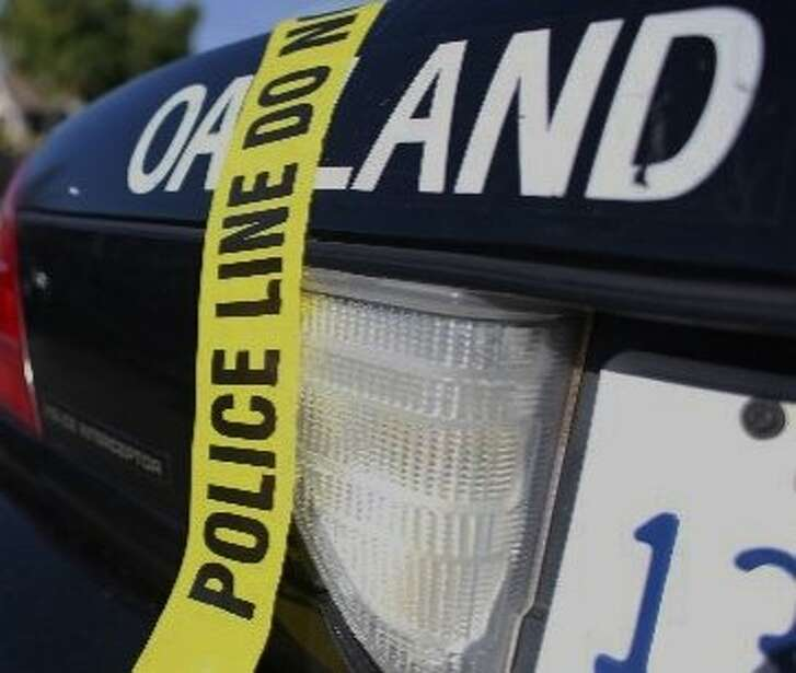 Police responding to shots fired found two men dead from gunshot wounds in Oakland's Fruitvale District Thursday night.