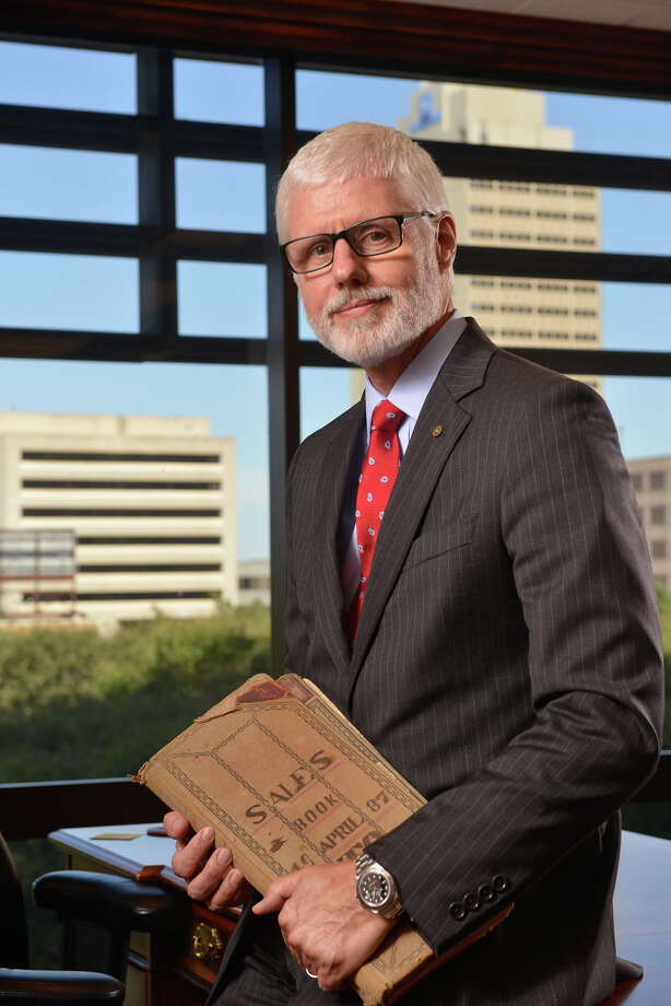 Phil Green is the president of Cullen/Frost Bankers, the parent company of Frost Bank. He doesn't expect virtual currencies to have much impact on banking. Photo: Robin Jerstad /San Antonio Express-News