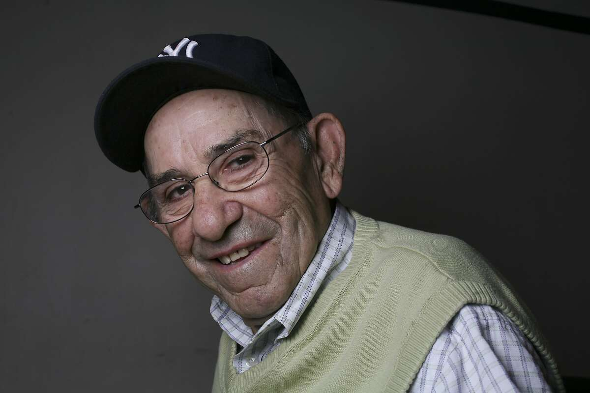 FILE -- Yogi Berra, legendary former Yankees catcher and coach, who also coached for the Mets and Astros, in Little Falls, N.J. in 2009. Berra, one of baseball's greatest characters and a mainstay on 10 Yankees championship teams, died on Tuesday, Sept. 22, 2015. (Chester Higgins Jr/The New York Times)