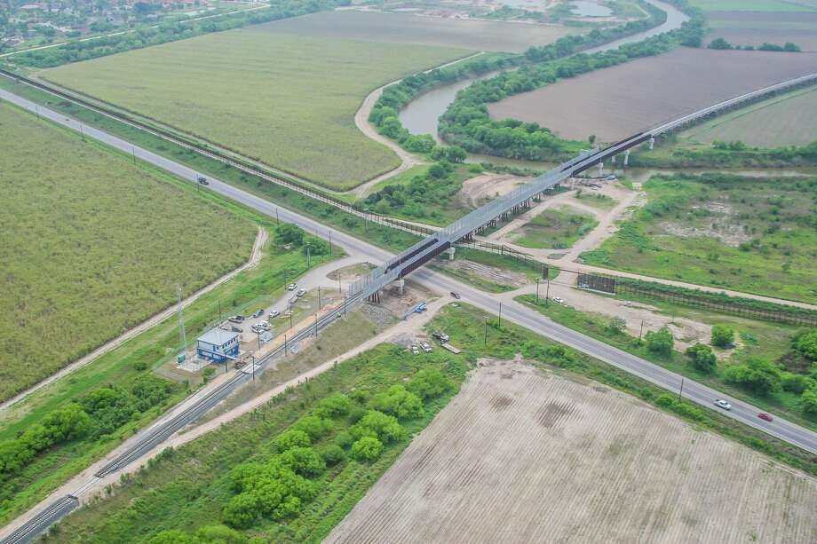 A new rail bridge connecting Brownsville to the Mexican manufacturing center of Monterrey is expected to facilitate more trade in South Texas, including the shipment of petroleum products. Photo: Courtesy Of Cameron County
