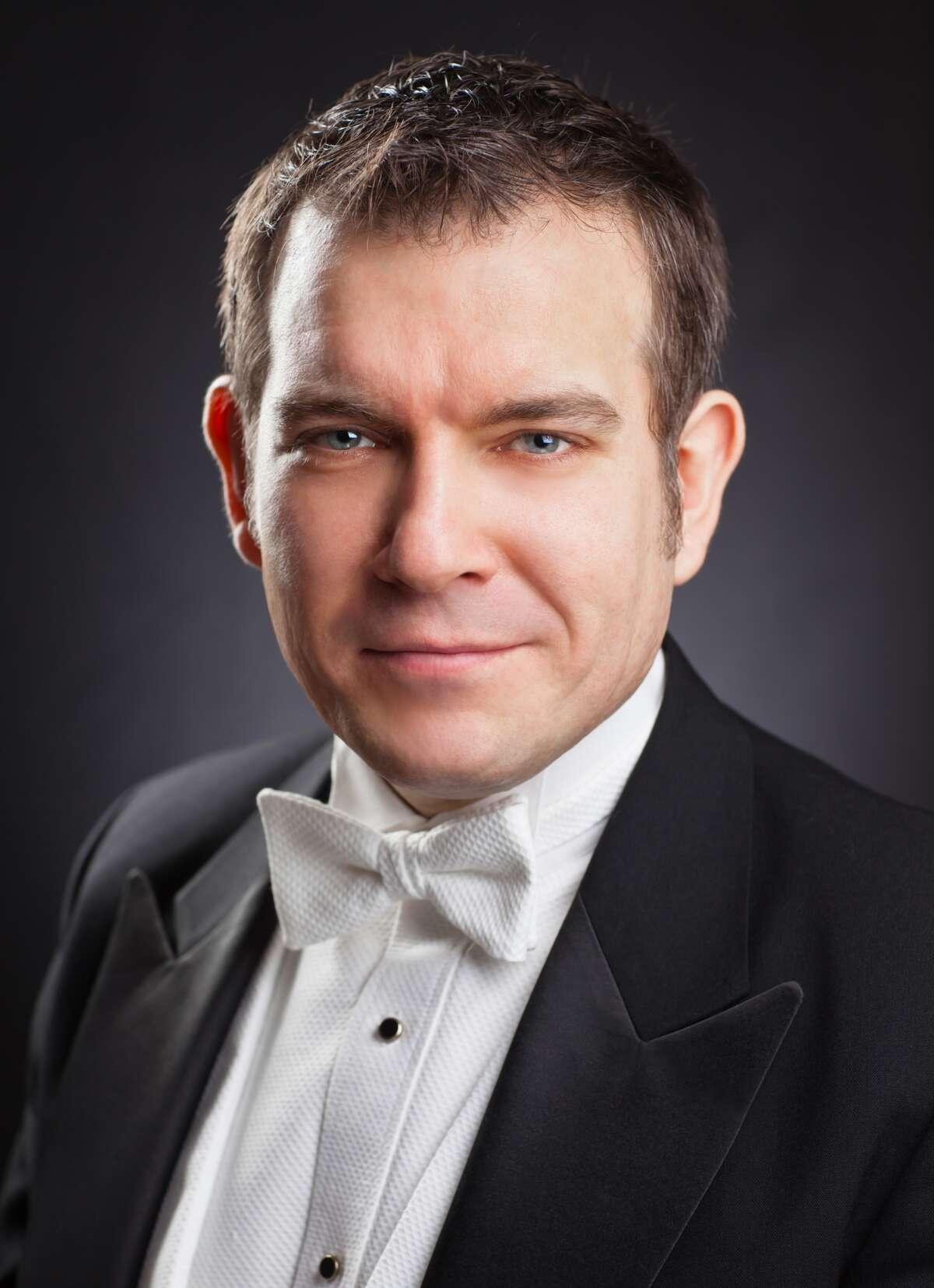 Paolo Bordignon, New York Philharmonic Orchestra harpsichordist and St. Paul's United Methodist Church organist/choirmaster. Photo by Chris Lee