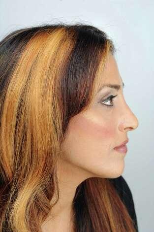 Joanne Rizk, of Troy, makeup side. (Cindy Schultz / Times Union) Photo: Cindy Schultz / 10032842A