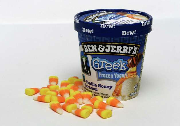 Forget candy corn when you can have Ben & Jerry's frozen yogurt.  (Skip Dickstein / Times Union) Photo: Skip Dickstein / 00024127A