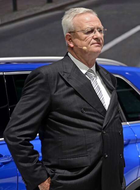Volkswagen CEO Martin Winterkorn has resigned, being replaced by Matthias Müller. Photo: Jens Meyer, Associated Press