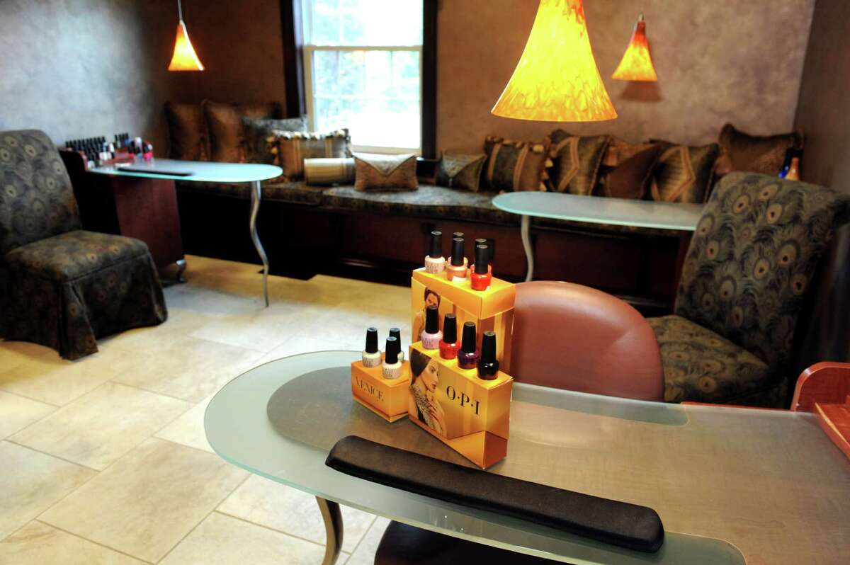 The nail salon on Wednesday, Aug. 12, 2015, at Kimberly's A Day Spa in Latham, N.Y. (Cindy Schultz / Times Union)