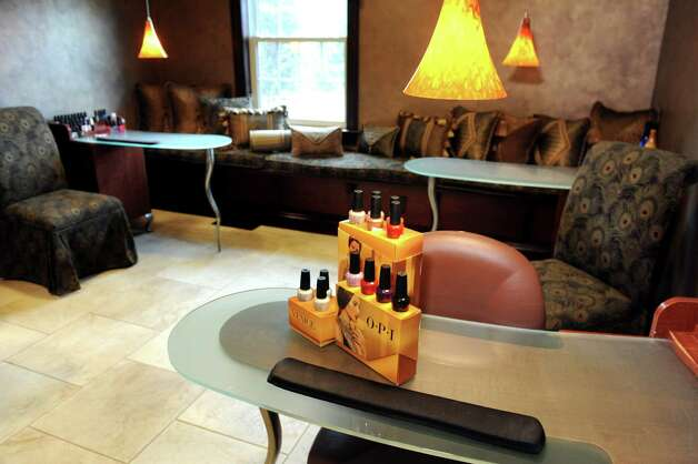 The nail salon on Wednesday, Aug. 12, 2015, at Kimberly's A Day Spa in Latham, N.Y. (Cindy Schultz / Times Union) Photo: Cindy Schultz / 00032966A