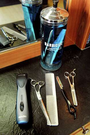 Tools of the trade at Gregory's Barbershop in Delmar , N.Y. (Cindy Schultz / Times Union) Photo: Cindy Schultz / 00033148A