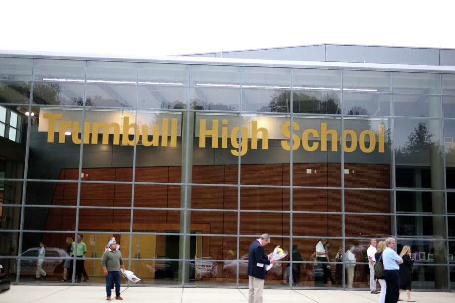File photo of Trumbull High School Photo: Mike Ross / For Hearst Connecticut Media / Connecticut Post Freelance