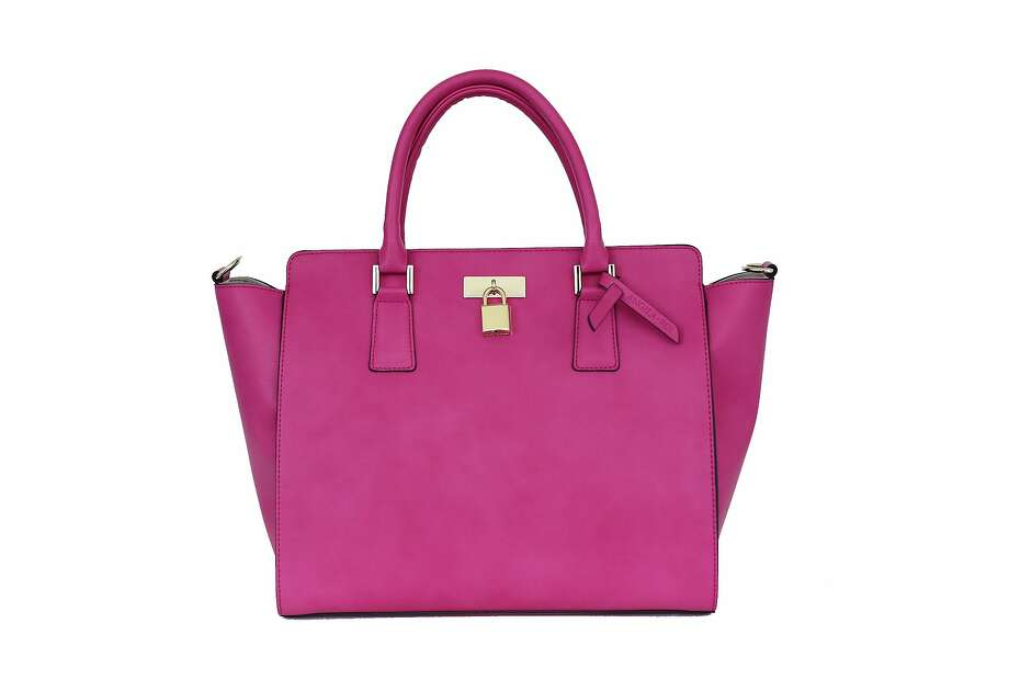 The Sunday Pink Tote is sold exclusively on Angela & Roi's website while quantities last. $150. www.angelaroi.com. Photo: Angela & Roi