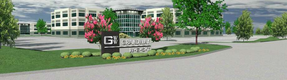 A partnership of InSite Realty Partners and Urban Cos. broke ground on a second office building in its Grandway West development.