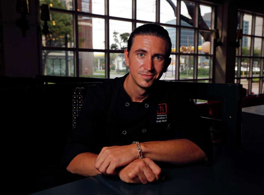 Tarakaan restaurant Executive Chef Micah Rideout poses for a portrait Thursday, Sept. 10, 2015, in Houston.   ( James Nielsen / Houston Chronicle ) Photo: James Nielsen, Staff / © 2015  Houston Chronicle