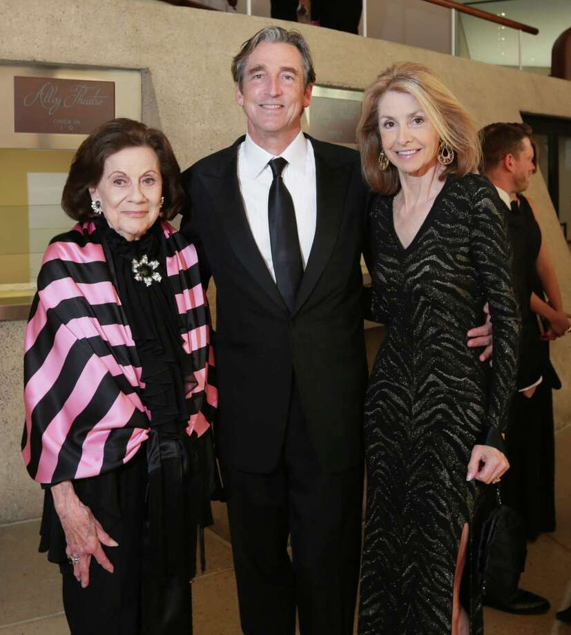 Patty Hubbard, left, with Ford and Molly Hubbard Photo: Jon Shapley, Staff / © 2015 Houston Chronicle