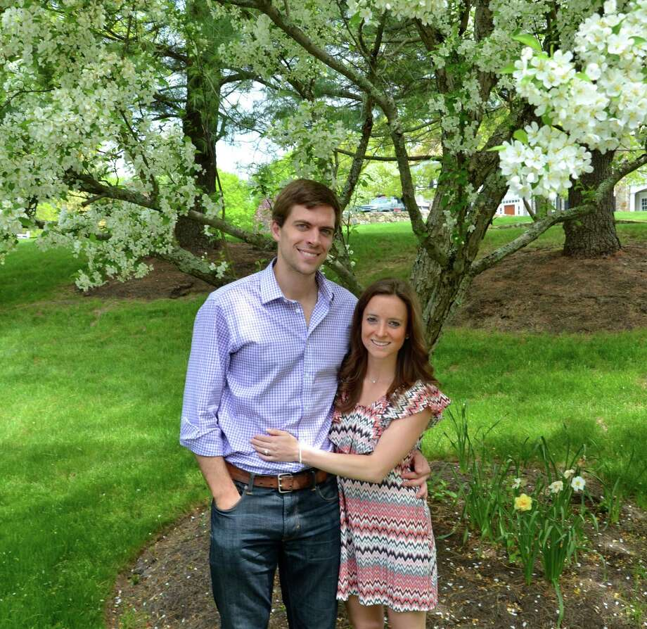Brendan L. McEwan and Jacqueline R. Aanonsen will wed in the Summer of 2016. Photo: Contributed / Contributed / Stamford Advocate Contributed
