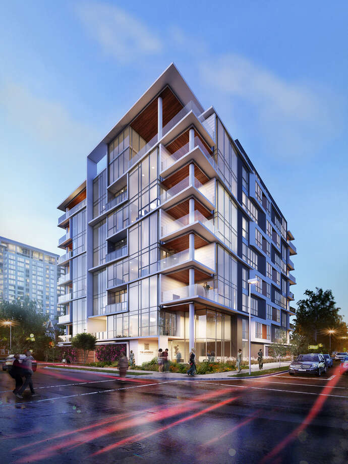 The Mondrian will be located at 5104 Caroline on the corner of Palm.