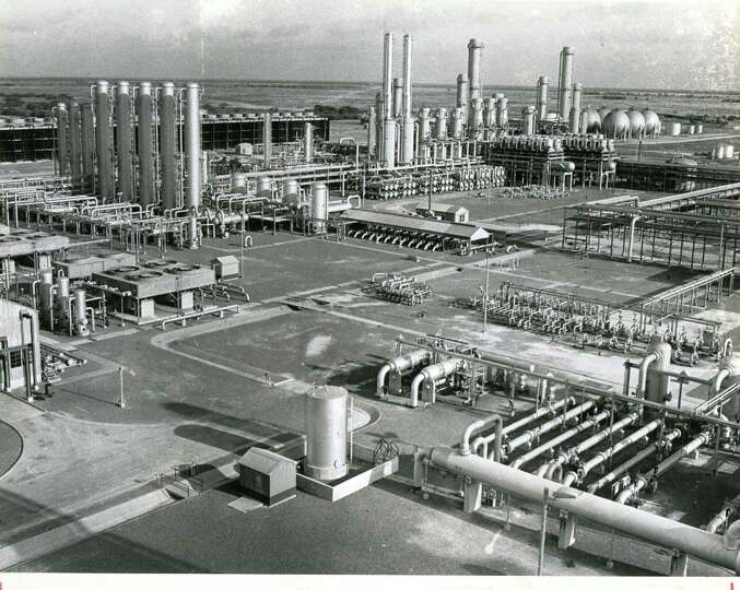 In 1982 This Was The Largest Gas Plant In The United