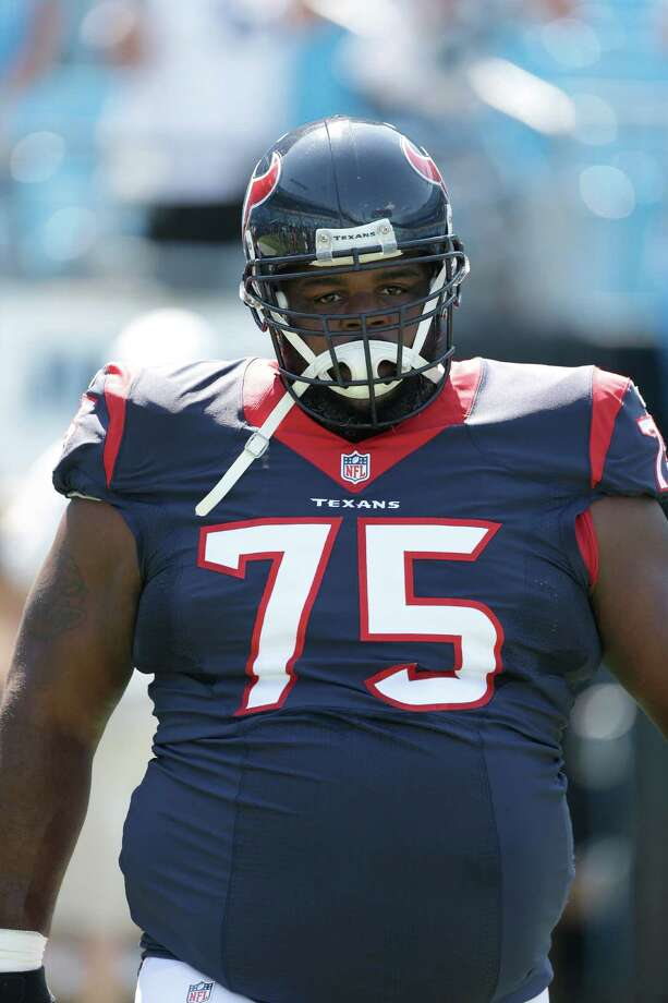 Houston Texans' Vince Wilfork (75) before an NFL football game against the Carolina Panthers in Charlotte, N.C., Sunday, Sept. 20, 2015. The Panthers won 24-17. (AP Photo/Bob Leverone) Photo: Bob Leverone, FRE / FR170480 AP