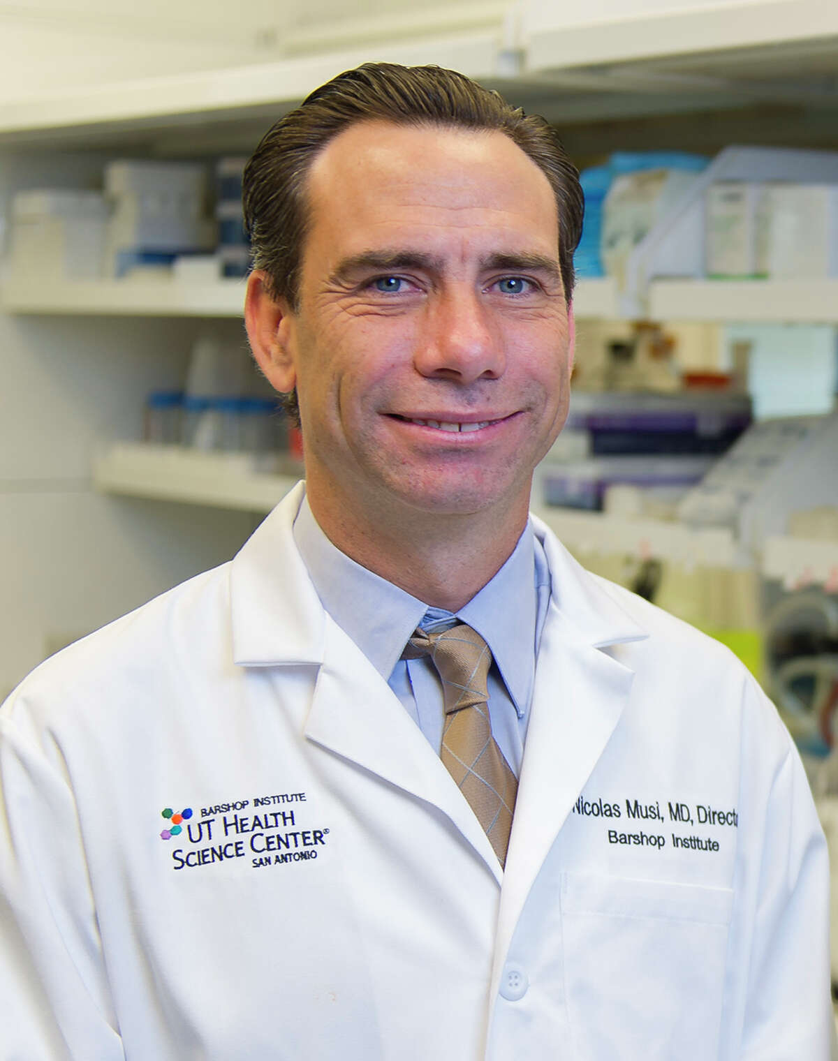Dr. Nicolas Musi is director of the Barshop Institute for Longevity and Aging Studies at the University of Texas Health Science Center in San Antonio.
