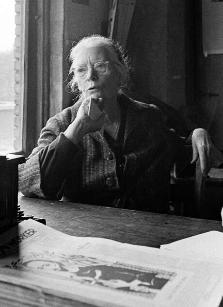 Dorothy Day co-founded the Catholic Worker movement and the Catholic Worker newspaper. She promoted pacifism. Photo: John Orris /New York Times / NYTNS