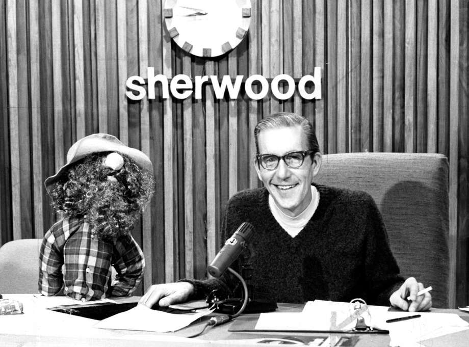 Don Sherwood of KSFO with friend Photo ran 11/23/1969,  pg. 29 TV section Photo: Handout / ONLINE_YES