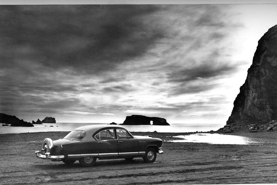 A 1952 model from Kaiser on Jan. 21, 1952. Photo: Gordon Peters, The Chronicle