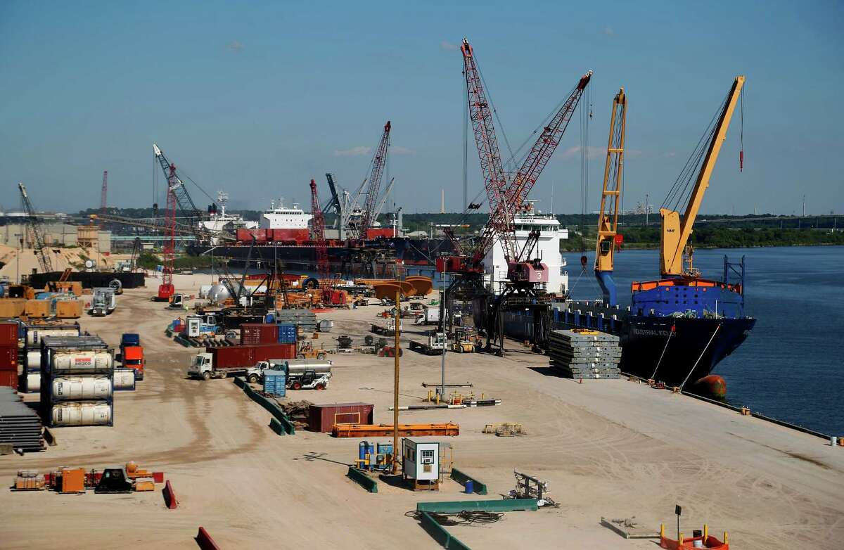 The Industrial Kelly makes a stop on the Ship Channel. The Export-Import Bank has lost authorization to issue new loans.
