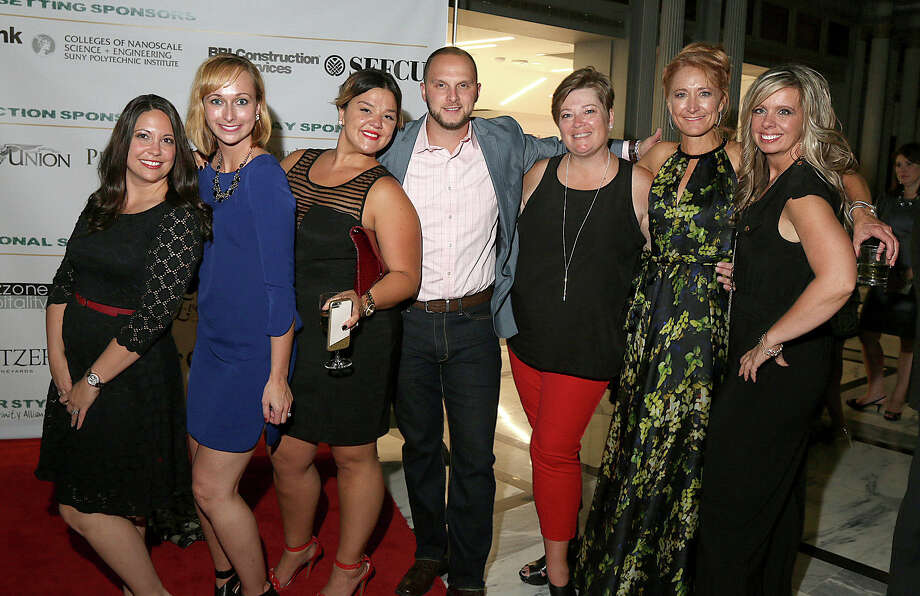Were you Seen at Rock Your Style, a fundraising event for the Trinity Alliance of the Capital District, held at the Kiernan Plaza in downtown Albany on Friday, Sept. 25, 2015? Photo: Joe Putrock/Special To The Times Union