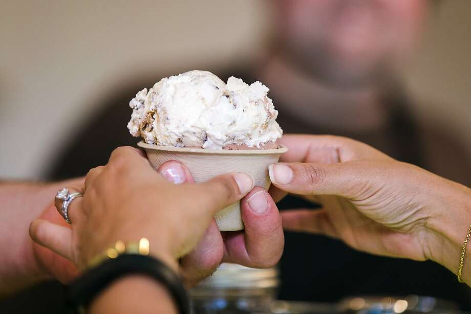 A cup of ice cream at Shakedown in San Francisco's Tenderloin neighborhood. Photo: Jen Fedrizzi, Special To The Chronicle