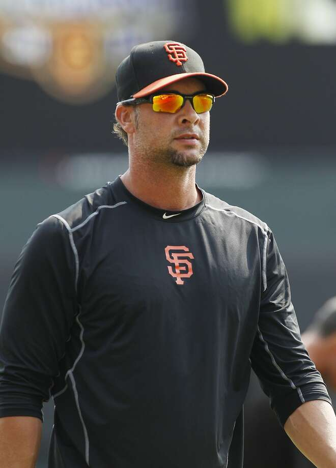 San Francisco Giants pitcher Ryan Vogelsong walks on the field before a baseball game against the San Diego Padres, Sunday, Sept. 13, 2015, in San Francisco. (AP Photo/George Nikitin) Photo: George Nikitin, Associated Press